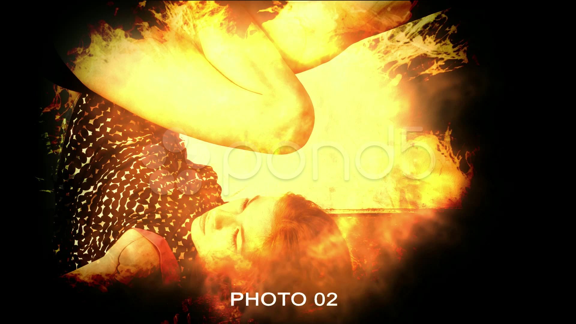 After Effects Project - Pond5 Fire Photo Presentation 24701417