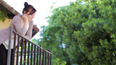 Reckless love - lovers - juliet and  romeo - kiss Stock Footage
