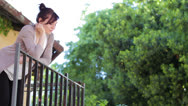 Stock Video Footage of reckless love - lovers - juliet and  romeo - kiss