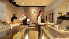 Dubai Mal, Cash Control, April 25, 2013 In Dubai, UAE. Stock Footage