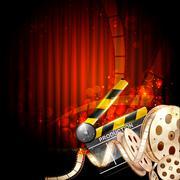 Cinema Taustaa Piirros