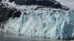 Glacier Bay pan across Margerie Ice Flow at Ocean HD 1379 Stock Footage