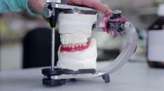 Dental prosthesis Stock Footage