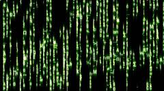 Stock Video Footage of Matrix Style