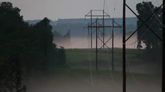 Power Lines - stock footage