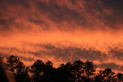 Fire Skies Stock Photos