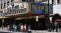 Oriental Theatre Famous Landmark Chicago Theater District Loop Area Downtown Day Footage