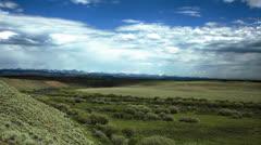 Green Prairie Timelapse 2 Stock Footage