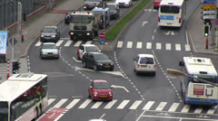 Luxembourg - traffic Stock Footage