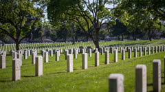 Cemetery Stock Footage