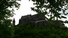 Luxembourg -  Vianden Stock Footage