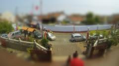 Malacca street scene Stock Footage