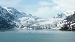 Great Pacific Glacier Glacier Bay Alaska HD 7261 Stock Footage