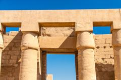 Stock Photo of Temple of Karnak, Egypt - Exterior elements