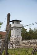 concentration camp in nis, serbia - stock photo
