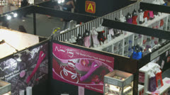SEXPO (Adult entertainment) 16 - zoom out Stock Footage