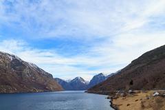 fjord, norway - stock photo