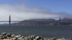 San Francisco, Golden Gate Bridge Timelapse Arkistovideo