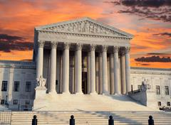 Supreme court sunrise Stock Photos