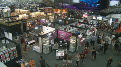SEXPO (Adult entertainment) 17 timelapse Stock Footage