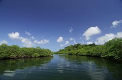 Bocas del toro archipelago Stock Photos