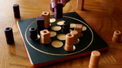 Abstract Board Game Stock Footage