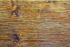 Yellow wood horizontal flat texture Stock Photos
