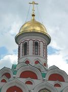 cupola of church - stock photo