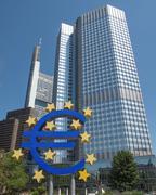 Stock Photo of european central bank in frankfurt