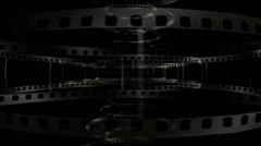 Movie Frames Motion mapping Stock Footage