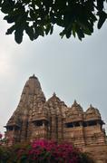 Kandariya Mahadeva Temples Khajuraho AD 930-950 Stock Photos