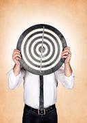 Head target Stock Photos