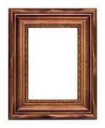 Vintage bronze picture frame Stock Photos