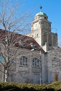 Kellotorni Harvard, Cambridge Yhdysvallat Kuvituskuvat