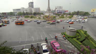 Stock Video Footage of bangkok - apr 13: view on the victory monument square on apr 13, 2013 in bang