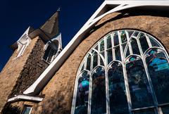 Kirkko Cape May, New Jersey. Kuvituskuvat
