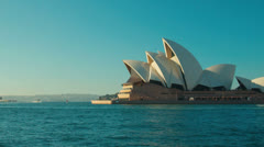 Sydney Ferry Crossing Stock Footage