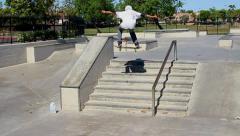 Skateboarding 1 - stock footage