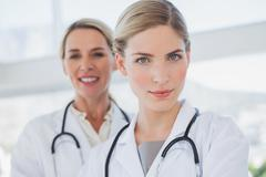 Stock Photo of Attractive doctors standing together