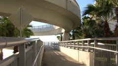 Stock Video Footage of FX7 Clearwater Memorial Causeway 6
