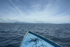 Stock Photo of sailing to distant islands