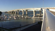 Stock Video Footage of FX7 Clearwater Memorial Causeway 8