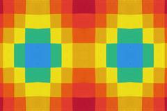 Multi-colored squares Stock Illustration