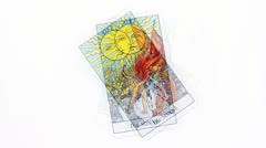 Tarot card Stock Footage