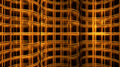 Iron Mesh Tubes - stock footage