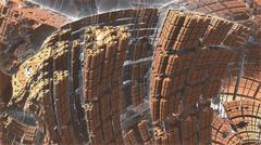 Nano Canyon Stock Illustration