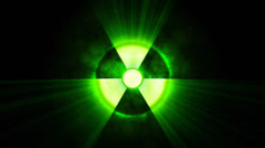 Stock Video Footage of Radioactive danger