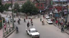 Kathmandù Time Lapse Stock Footage