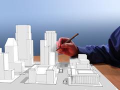 Architect's dream Stock Illustration