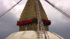 Boudhanath Stupa Kathmandù 1 Stock Footage